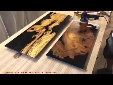 Cara membuat meja resin