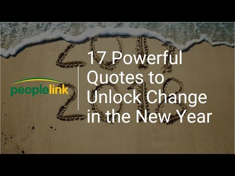 powerful quotes to unlock change in the new year