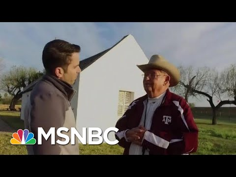 Historic Texas Church Would End Up On Mexico Side Of The Wall | The Last Word | MSNBC