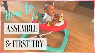 Baby Walker: How To Assemble Bright Starts Walk-A-Bout Walker ( THIS YEAR )