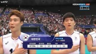 Korea vs Japan  FIVB Volleyball World League 2016 19 Jun 2016