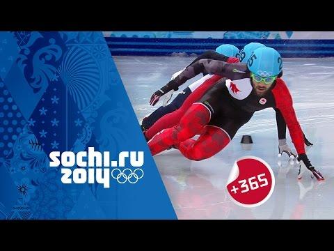 Hamelin Gold - Men's Short Track Speed Skating 1500m Full Final | #Sochi365