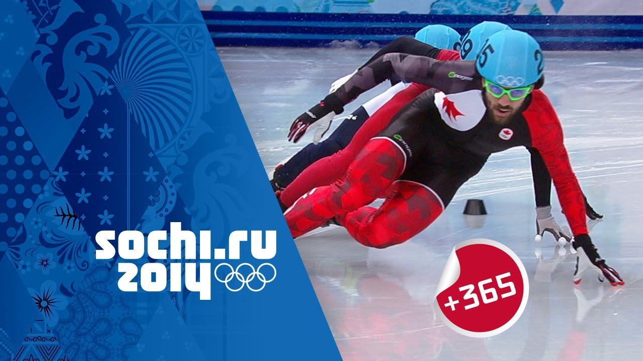 Hamelin Gold - Men's Short Track Speed Skating 1500m Full Final   #Sochi365