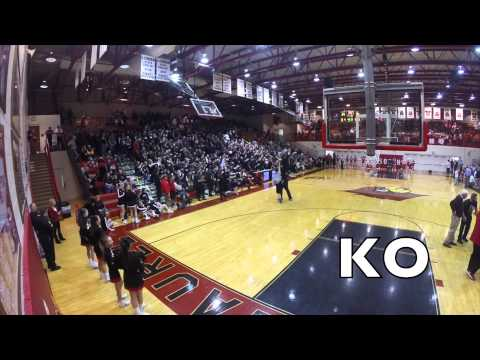 "South Laurel ""Cardinal Crazies"" 1-27-15 GoPro"