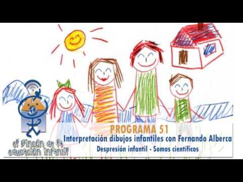 Interpretación dibujos infantiles - Depresión infantil - Somos científicos (P51)