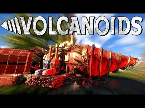 STEAMPUNK VOLCANO SURVIVAL GAME! - Volcanoids Pre-Alpha Gameplay First Look