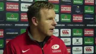 Mark McCall on Saracens victory over Toulouse | Rugby Video Highlights