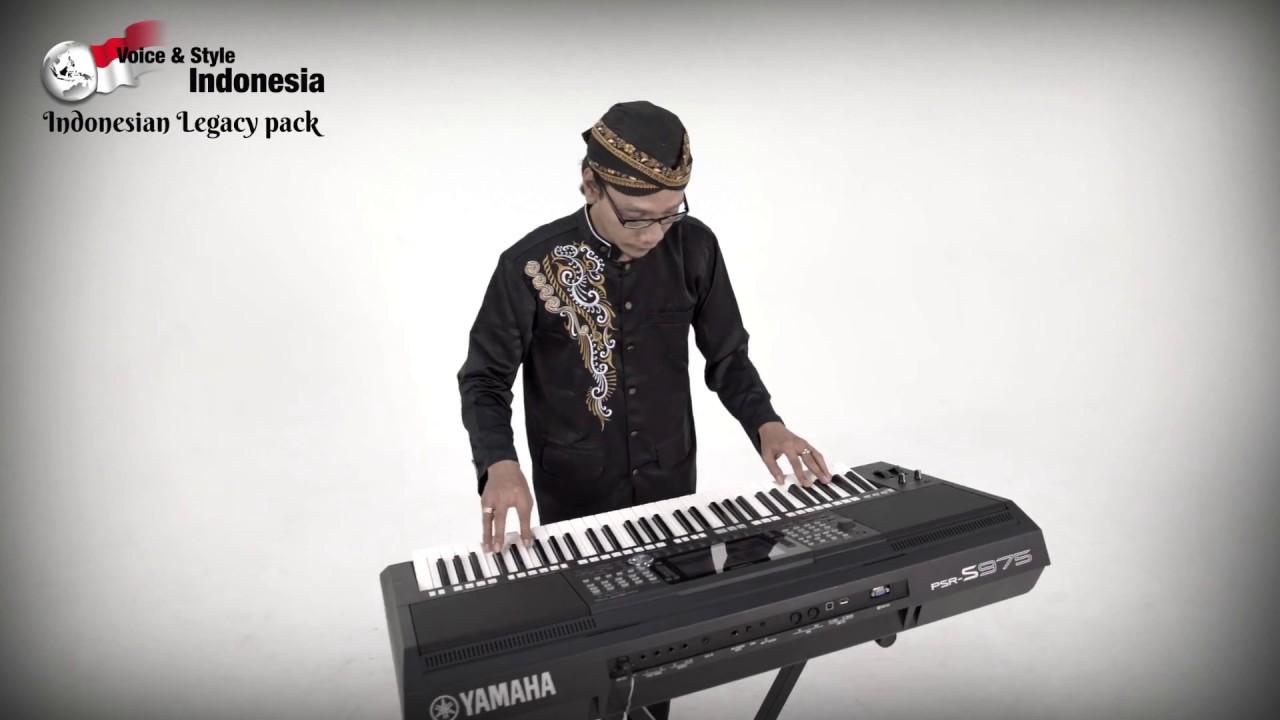 Yamaha Psr S975 S775 Indonesian Legacy Pack Langgam Jawa Ver 02 Youtube