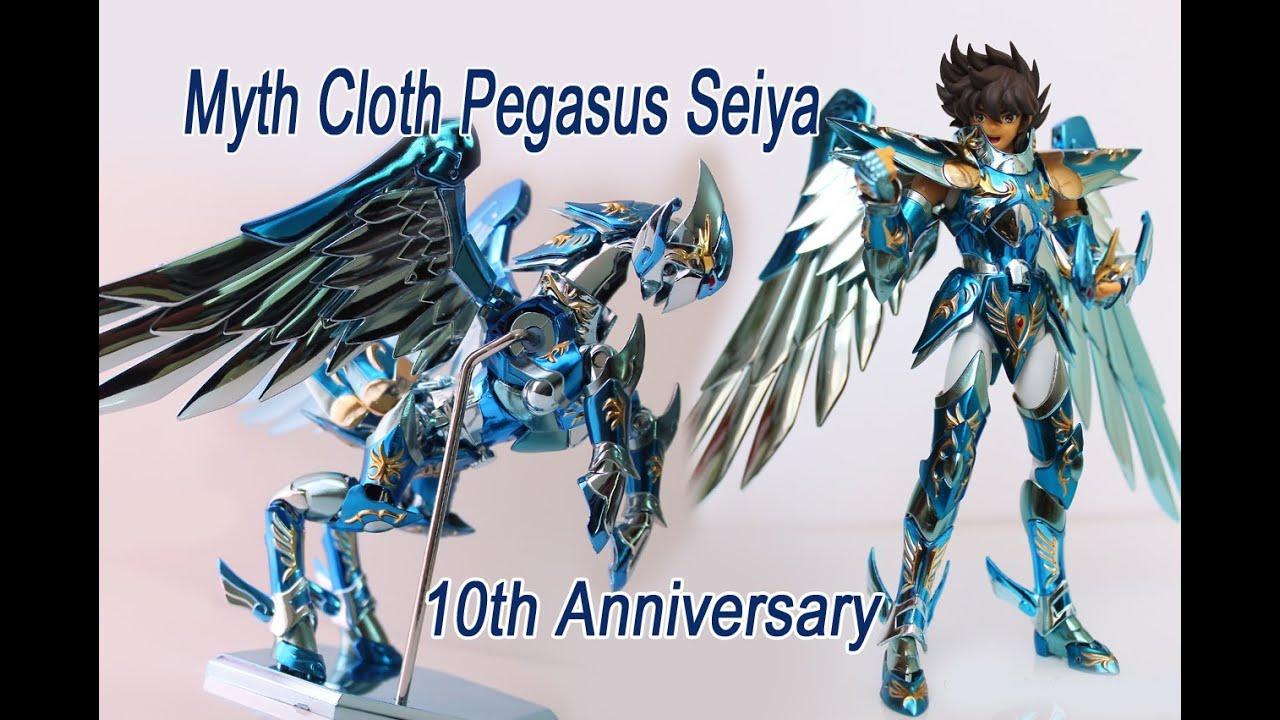 saint seiya myth cloth pegasus seiya 10th anniversary youtube. Black Bedroom Furniture Sets. Home Design Ideas