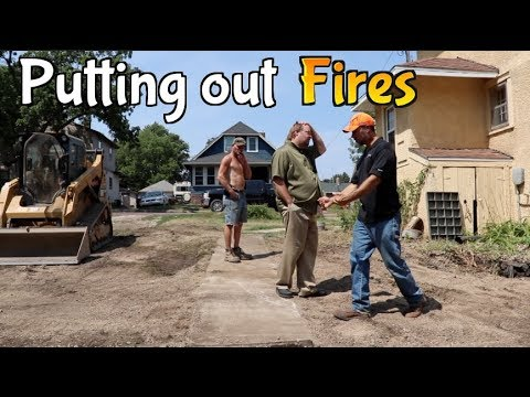 3 Days at Work Excavating, Landscaping, Demolition, Construction & Lawn Care running outdoor jobs