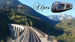 [Cab ride] 2/3 Monestier de Clermont à Lus la Croix Haute ligne des Alpes ATER X73500