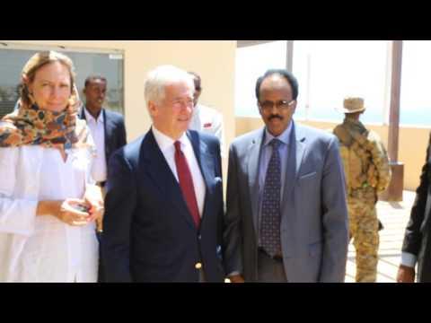THE VILLA SOMALIA MADAXWEYNE FARMAAJO & DIBLOMAASIYIINTA BEESHA CAALAMKA 13 02 2017