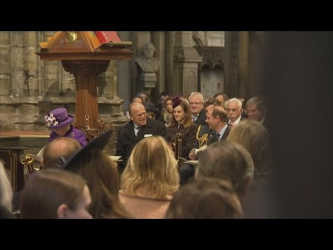 Prince Philip amused by Edward's pole dancing story