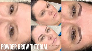 How To Create The Perfect Ombre Powder Brow: Microblading Tips & Tutorial