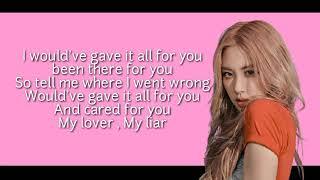 ROSE  LOVE IS GONE  II  Lyrics