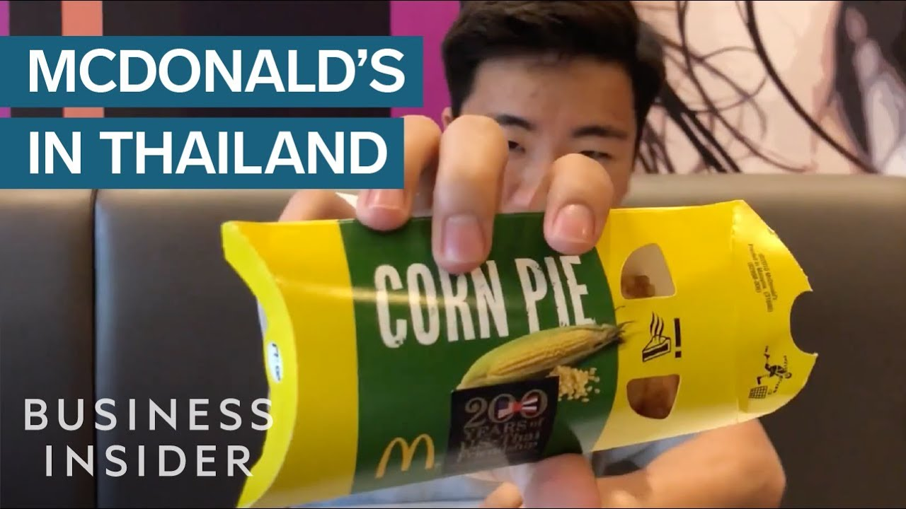 We Tried Mcdonald S In Thailand