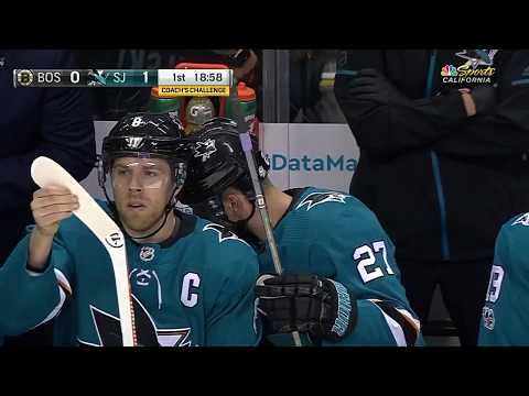 Boston Bruins vs San Jose Sharks - November 18, 2017 | Game Highlights | NHL 2017/18