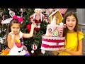 Stacy intenta atrapar a Santa Claus para Navidad | Historia de Navidad