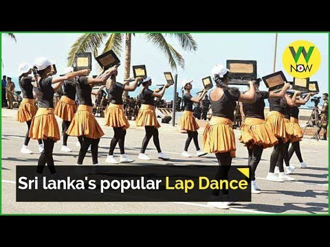 Sri lanka's popular Lap Dance