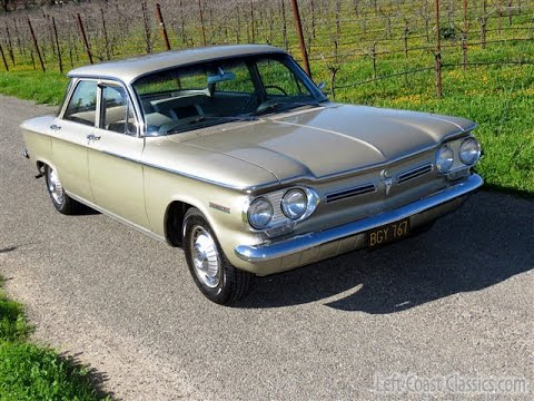 1962 Chevrolet Corvair 700 W/ Only 31k Miles