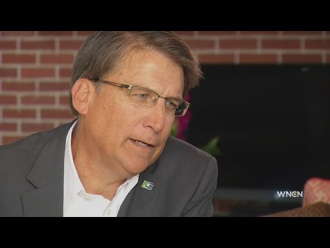 Gov. McCrory speaks about various issues in WNCN interview