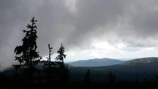 Облака на вершине Малого Иремеля
