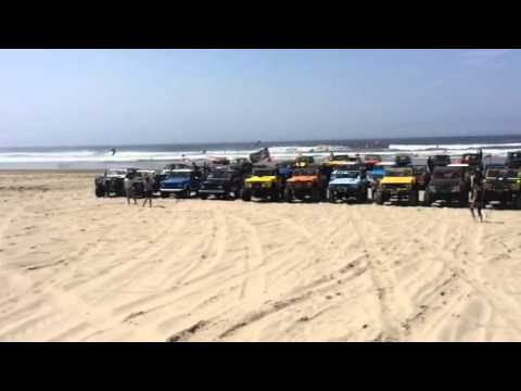 Early Bronco group - Beach Photo
