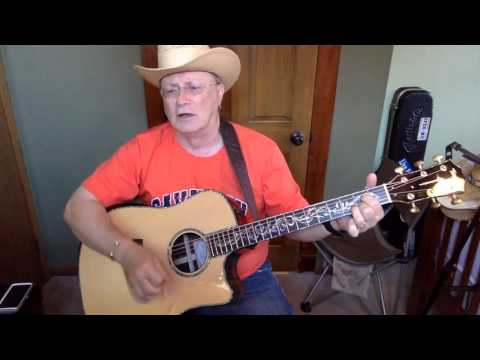 2009 -  Corvette Song -  George Jones vocal & acoustic guitar cover & chords