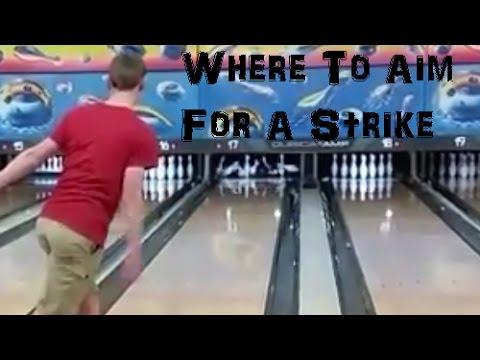Where To Aim For A Strike! Bowling Help
