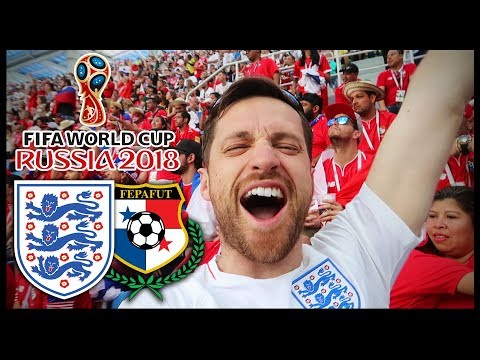 ENGLAND vs PANAMA! - RUSSIA WORLD CUP 2018