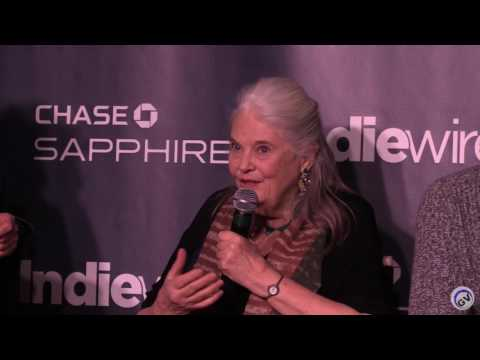 """Sundance 2017 """"Marjorie Prime"""" IndieWire Panel at Chase Sapphire 1-24-17"""