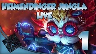 Sin Cortes #1 Heimerdinger Jungla (Team Yordle) - League of Legends en Español