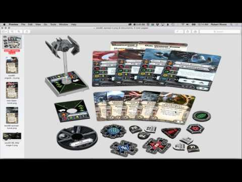 X-WING: WAVE 11 TIE Aggressor Expansion Pack Preview - X-Wing Miniatures - SPG