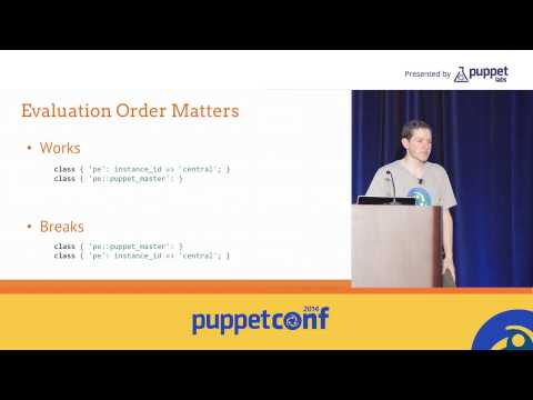[PuppetConf 2014][IT Automation] Puppetizing Multitier Architecture - Reid Vandewiele, ...