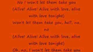 Alive With The Glory Of Love ~ Say Anything lyrics