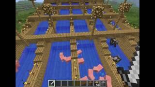 Ciekawe Pomysły Minecraft - (Pół)Automatyczna Hodowla Zwierząt