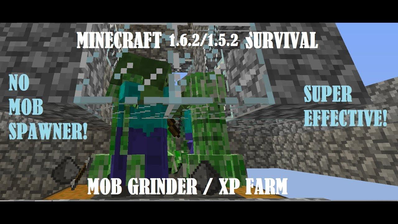 Minecraft 1.6.2/1.5.2 Tutorial: Automatic XP Farm/Mob ...