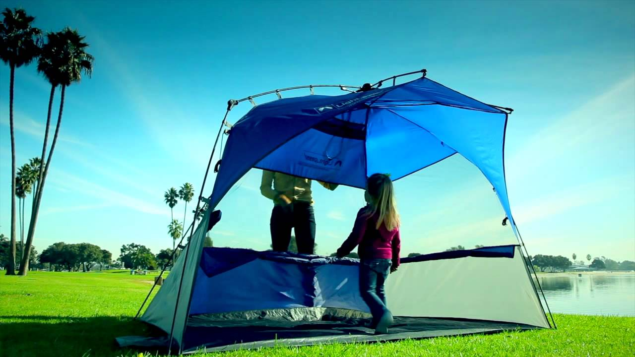 the best attitude 42304 29e16 Lightspeed Outdoors Sport Shelter - extra large pop-sun sun shelter with  room for 4 or more