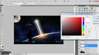 Sci Fi Space - tutorial Photoshop [Español] [Spanish]