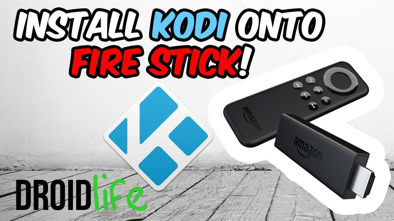 Install Kodi 16 1 on your Amazon Firestick using ADBLINK (Direct USB cable)