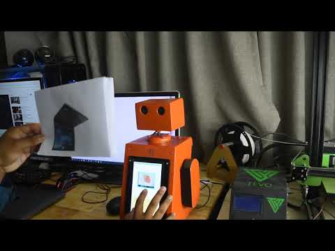 Smitty Robot | Electronic Faculty NPIC | Cambodia Technology | Artificial Intelligence