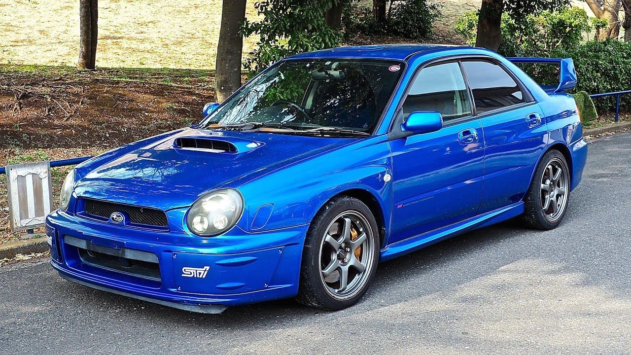 2002 subaru impreza wrx sti prodrive style canada import japan auction purchase review [ 1280 x 720 Pixel ]