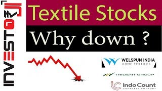 Why textile stocks are falling