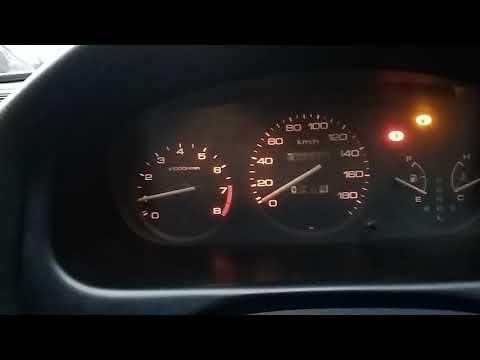 Плавают  обороты  Honda Domani D16a  вариатор