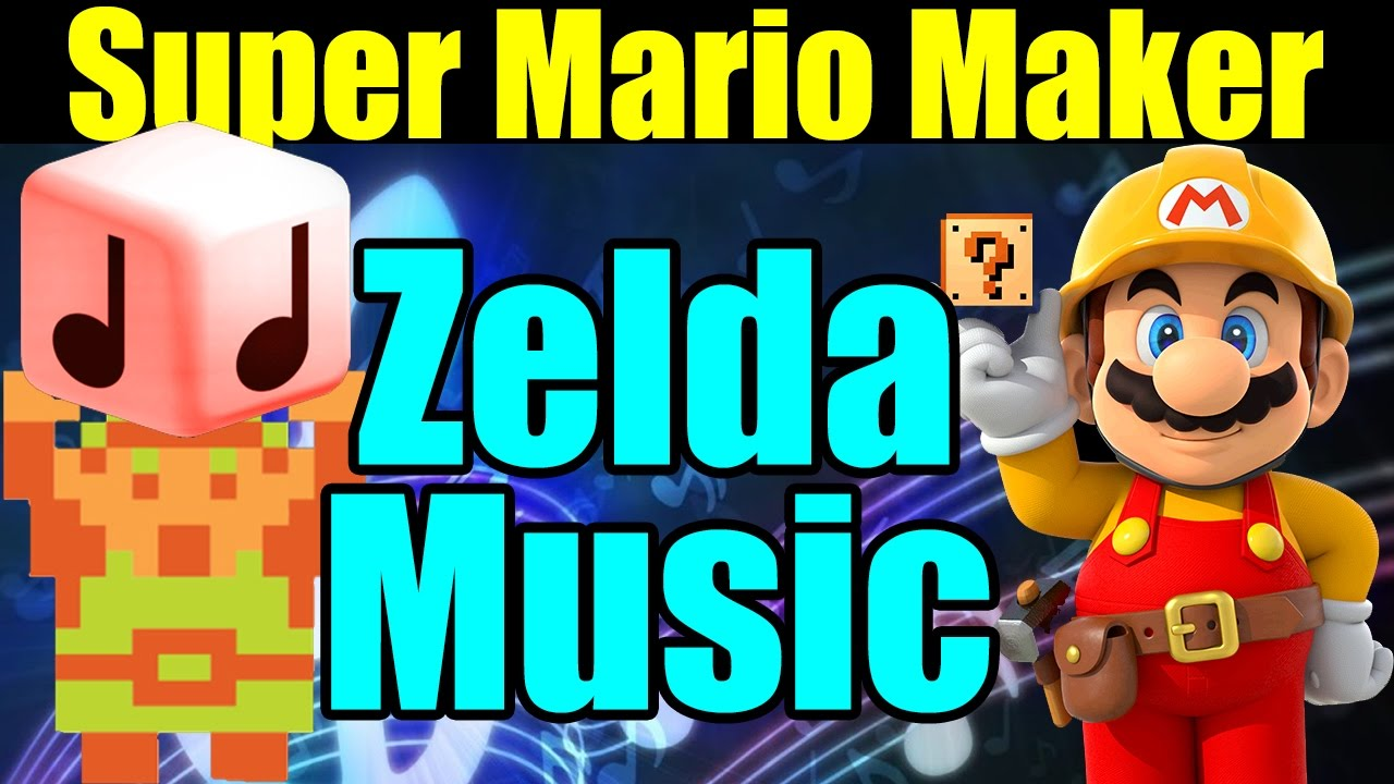 1417b5e389 11 AMAZING Zelda Music Levels in Super Mario Maker ♪♫♬ - YouTube