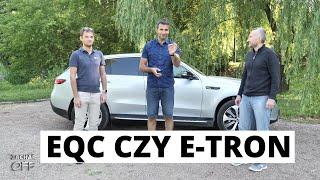 Mercedes EQC czy Audi e-tron? Na co się przesiąść z Leafa i elektrycznego Smarta?