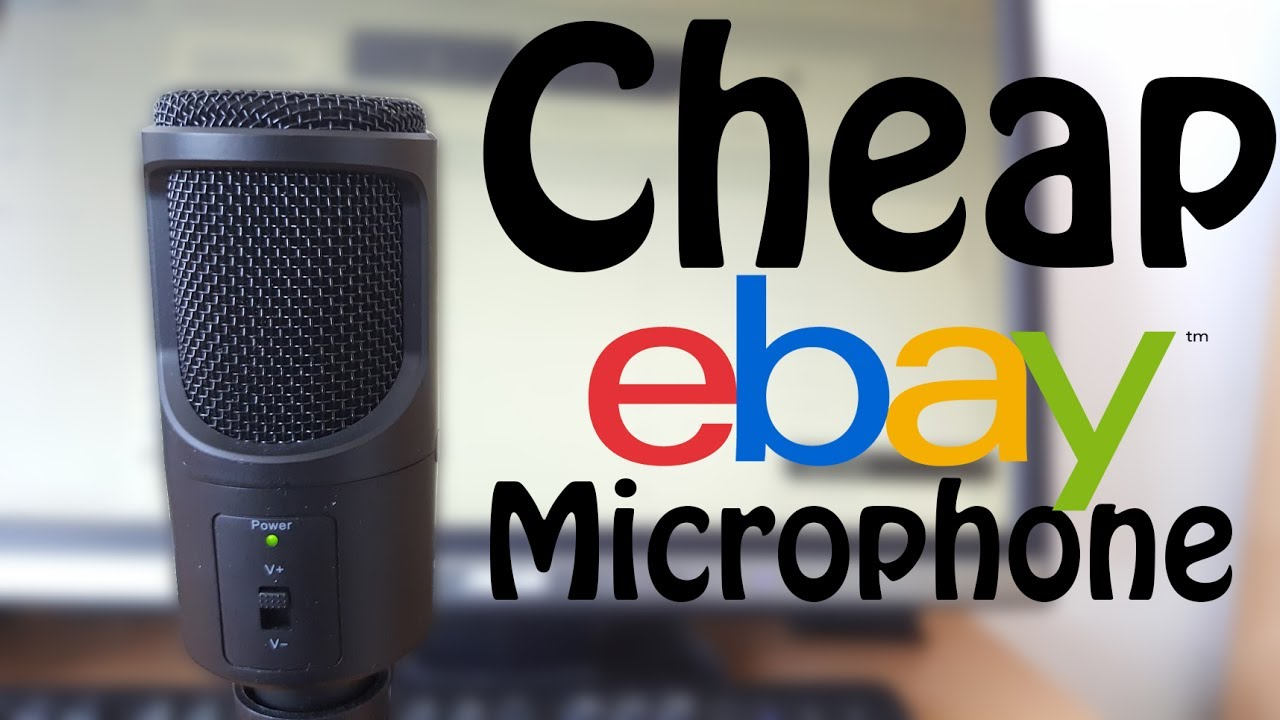 cheap 15 usb microphone cheap ebay microphone youtube. Black Bedroom Furniture Sets. Home Design Ideas