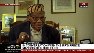 In conversation with IFP's Prince Mangosuthu Buthelezi - Part 2