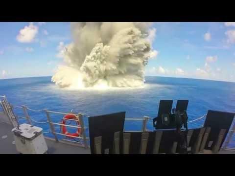 US Navy - USS Jackson (LCS 6) Full Ship Shock Sea Trials [1080p]
