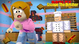 Roblox Escape The Butcher Obby With Molly!